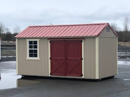 8x16 Utility Storage Shed - Summit Structures