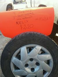 4 tires like new kellys and 1 extra $220 North Las Vegas, 89030