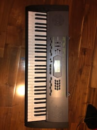 Gray and black electronic keyboard Des Moines, 50317