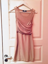Beige bodycon dress Oslo, 1069