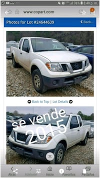 Nissan - Frontier - 2015 Silver Spring, 20902
