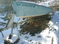 Boat with trailor. 13ft 8inches