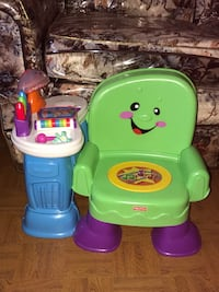Fisher Price Educational Chair New York, 10456