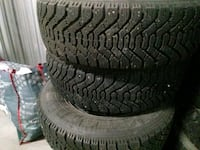 3 set ot winter tires in very good shape  Edmonton, T5H 2E2