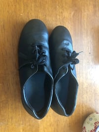 Pair of black tap shoes-size 7 Marwayne, T0B 2X0