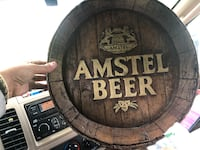 Amstel beer sign small chip easily fixed Thorold, L0S 1E6