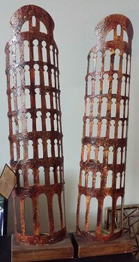 'LEANING TOWER OF PISA' CANDLE TOWERS - TOTALY UNIQUE - BRAND NEW  Toronto