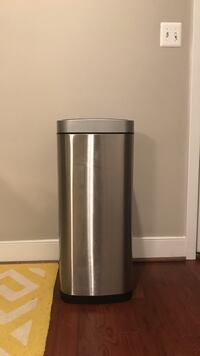 stainless steel battery operated hand motion trash bin Washington, 20019