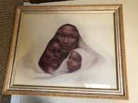 New family portrait. Professionally matted and famed 33x27 Orange Park, 32065