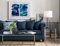 Crate & Barrel coffee table and side table