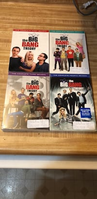 big bang dvds - 4 seasons Fife, 98424