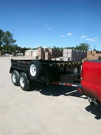2019 Patriot double axle dump trailer Albuquerque