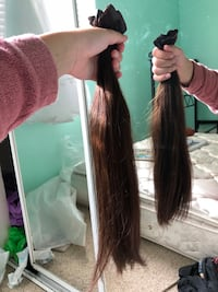 18 inch brown hair extensions Corona, 92879
