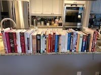 Baking and dessert book collection Toronto, M5J 2G8