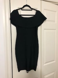 Black Guess by Marciano Meldon Bandage Dress Medium  530 km