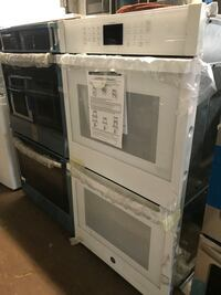Double wall oven electric GE 30in new 6 months warranty