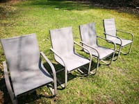 Comfortable and metal framed lounging chairs Richmond Hill, L4S 1J9
