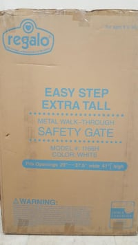 Regalo Easy Step Extra Tall Safety Gate