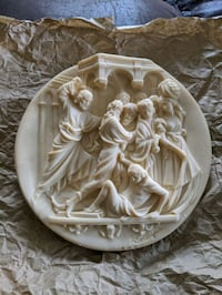"""Collectible plate- """"The Expulsion of the Money Changers"""""""