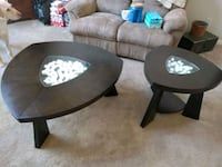 Coffee table and matching side table  Belleville, 48111