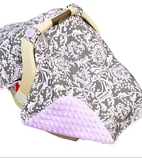 Belle Carseat Canopy with Lap Blanket