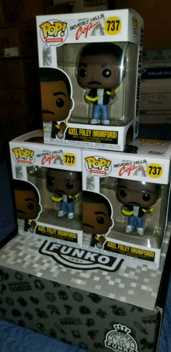 Beverly hills cop funko pops $25 EACH