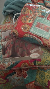 Zanzibar bed sheet set in packag e Lexington