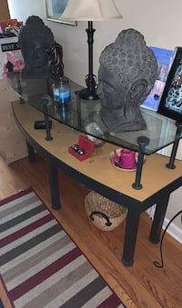 Glass Sofa or store table