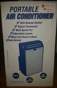 blue and white Haier portable air conditioner box Mississauga, L5A 3K7