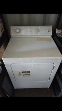 White front-load clothes washer Kelowna, V1Y 3J2