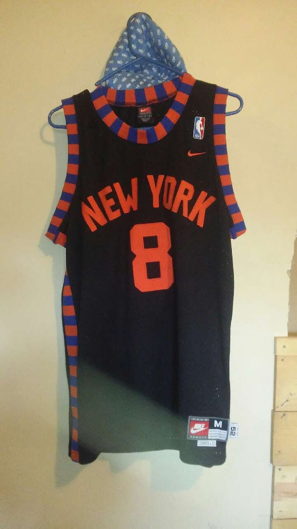 best service bffe0 83c19 New York knicks Sprewell Jersey