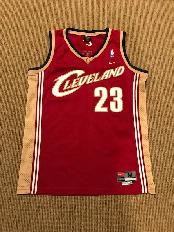 pretty nice 6420e c6b67 Used Lebron James Nike Cleveland Cavaliers jersey shirt for ...