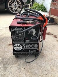 MAC tools Mig Welder with cart - argon tank not included Farmingdale, 11735