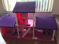 Pink and purple dollhouse Edmonton, T5H 2W2