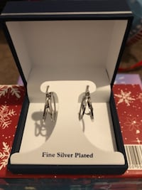 silver and diamond stud earrings Salisbury