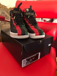 Air Force 1s BHM sz9 New York, 11233