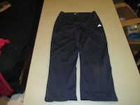 Girls Blue Adidas Pants Size Large Fort Saskatchewan