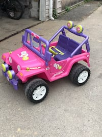 toddler's pink and purple ride on toy car Toronto, M6P 3W1