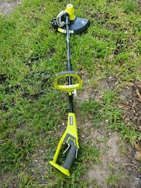 Ryobi trimmer with battery  and charger included  Houston, 77076