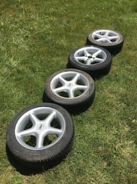 "16"" TSW rims and tires  Pickering, L1W 2R5"