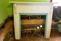 white wooden framed 102 yr old fireplace mantels  Belmont, 28012