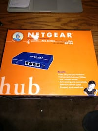 Netgear DS104 Dual Speed Hub Router Gaithersburg, 20886