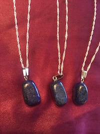 Crystal Gemstone Necklaces. $15 each. Plus shipping. Free pickup.