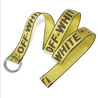 Brand New Off White Yellow Belt 1954 km