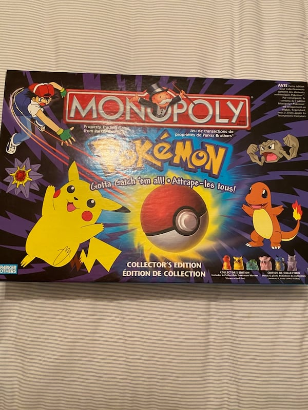 Pokeman Monopoly Board Game  7