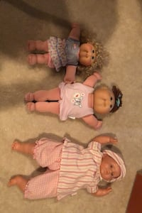 Plush cabbage patch dolls  Chantilly, 20152