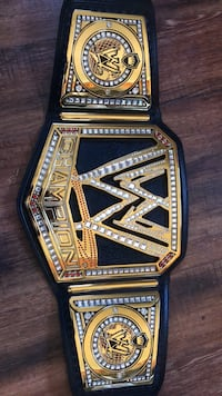 Authentic WWE Title Belt with carrying case and replacement jewels Denver, 80239