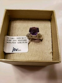 Amethyst and silver ring size 5 Livermore, 94551