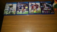 Four assorted Sony PS4 games Neosho, 64850