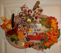 "Handmade ""Hello Fall"" Pumpkin Door Decoration Owings Mills, 21117"